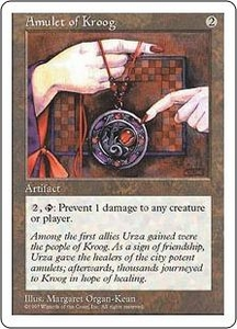 Magic the Gathering Fifth Edition Single Card Common Amulet of Kroog