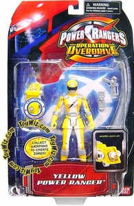 Power Rangers Operation Overdrive Action Figure Yellow Ranger