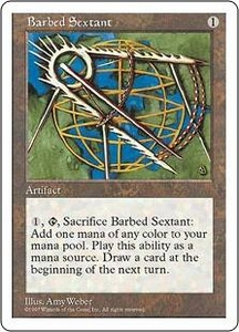 Magic the Gathering Fifth Edition Single Card Common Barbed Sextant