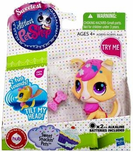 Littlest Pet Shop Sweet Snackin' Figure with Sound Collie