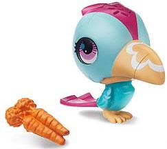 Littlest Pet Shop Sweet Snackin' Figure with Sound Toucan