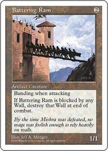 Magic the Gathering Fifth Edition Single Card Common Battering Ram