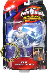 Power Rangers Operation Overdrive Action Figure Evil Space Alien