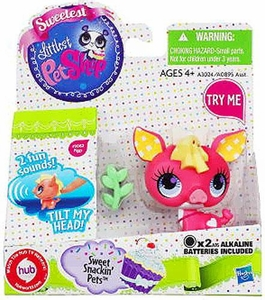 Littlest Pet Shop Sweet Snackin' Figure with Sound Pig
