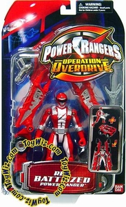 Power Rangers Operation Overdrive Action Figure Battlized Red Ranger BLOWOUT SALE!