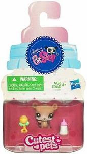 Littlest Pet Shop Cutest Pets Single Figure #2556 Baby Bear