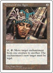 Magic the Gathering Fifth Edition Single Card Rare Crown of the Ages