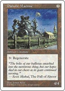 Magic the Gathering Fifth Edition Single Card Uncommon Diabolic Machine