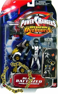Power Rangers Operation Overdrive Action Figure Battlized Black Ranger BLOWOUT SALE!