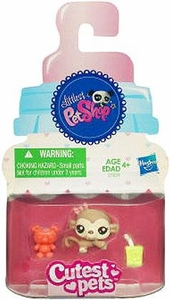 Littlest Pet Shop Cutest Pets Single Figure #2559 Baby Monkey