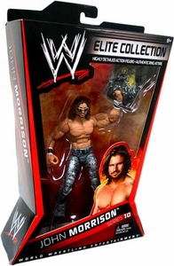 Mattel WWE Wrestling Elite Series 10 Action Figure John Morrison