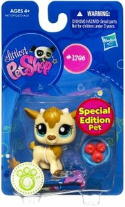 Littlest Pet Shop Get The Pets Single Figure Goat [Special Edition Pet]
