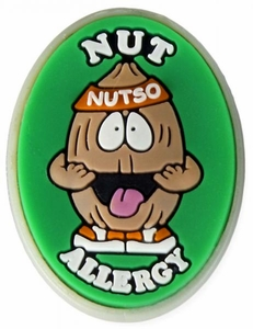 Nut Allergy Alert Charm