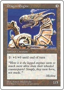 Magic the Gathering Fifth Edition Single Card Rare Dragon Engine