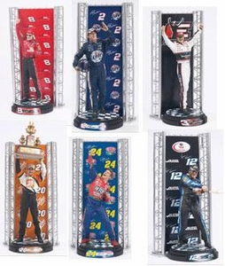 McFarlane Toys NASCAR Series 1 Action Figure Set of 6 Figures