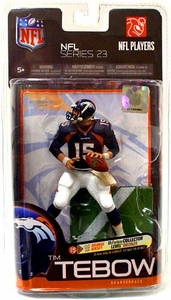 McFarlane Toys NFL Sports Picks Series 23 Action Figure Tim Tebow (Denver Broncos) Blue Jersey