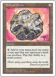 Magic the Gathering Fifth Edition Single Card Uncommon Fellwar Stone