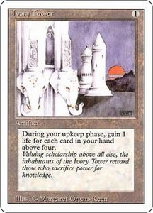 Magic the Gathering Revised Edition Single Card Rare Ivory Tower