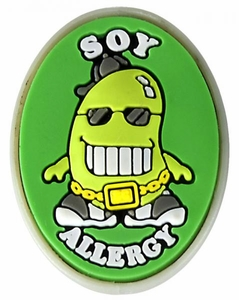 Soy Allergy Alert CharmOUT OF STOCK