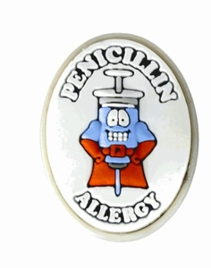 Penicillin Allergy Alert Charm BLOWOUT SALE!