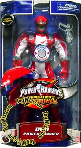 Power Rangers Operation Overdrive 12 Inch Mega Talking Action Figure Red Ranger