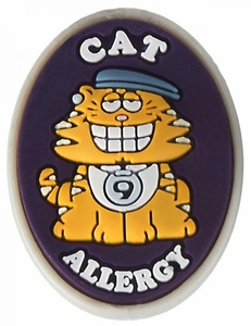 Cat Allergy Alert Charm