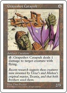 Magic the Gathering Fifth Edition Single Card Common Grapeshot Catapult