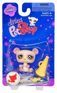Littlest Pet Shop Funniest Single Figure Panda with Megaphone