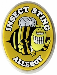 Insect Sting Allergy Alert Charm