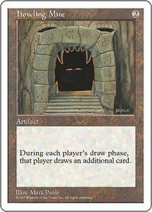 Magic the Gathering Fifth Edition Single Card Rare Howling Mine