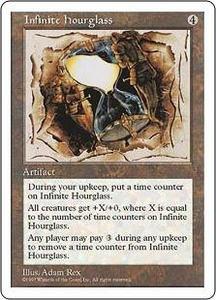 Magic the Gathering Fifth Edition Single Card Rare Infinite Hourglass
