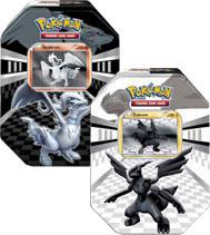 Pokemon Black & White Set of Both Legends Tins [Zekrom & Reshiram]