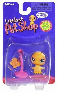 Littlest Pet Shop Single Figure Chick with Butterfly Toy On String