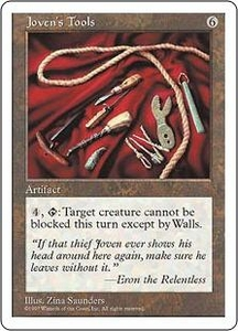 Magic the Gathering Fifth Edition Single Card Uncommon Joven's Tools