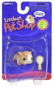 Littlest Pet Shop Single Figure Guinea Pig with Mirror