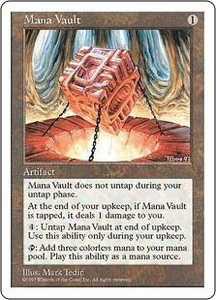 Magic the Gathering Fifth Edition Single Card Rare Mana Vault