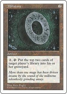 Magic the Gathering Fifth Edition Single Card Rare Millstone