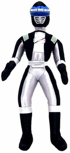 Power Rangers Operation Overdrive 12 Inch Deluxe Plush Figure Black Ranger