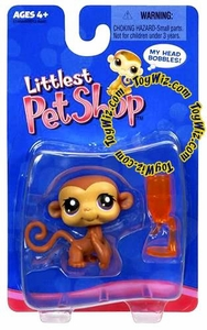 Littlest Pet Shop Exclusive Single Figure Monkey