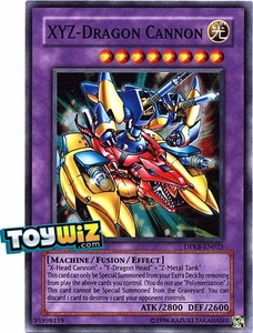 YuGiOh Duelist Pack Kaiba Single Card Super Rare DPKB-EN025 XYZ-Dragon Cannon