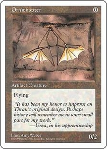 Magic the Gathering Fifth Edition Single Card Uncommon Ornithopter