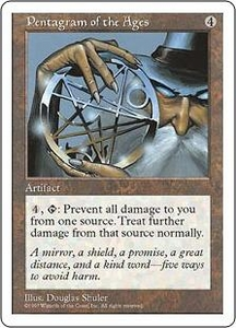 Magic the Gathering Fifth Edition Single Card Rare Pentagram of the Ages