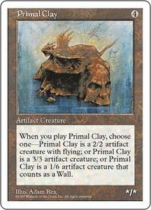 Magic the Gathering Fifth Edition Single Card Rare Primal Clay