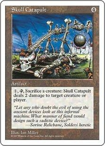 Magic the Gathering Fifth Edition Single Card Uncommon Skull Catapult