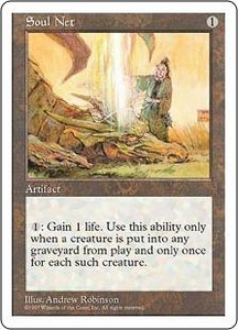 Magic the Gathering Fifth Edition Single Card Uncommon Soul Net