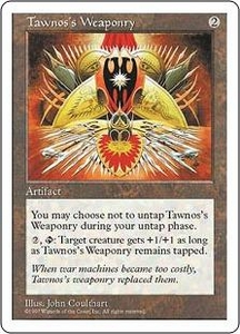 Magic the Gathering Fifth Edition Single Card Uncommon Tawnos's Weaponry