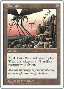 Magic the Gathering Fifth Edition Single Card Rare The Hive Played Condition Not Mint