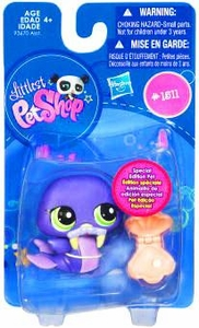Littlest Pet Shop Get The Pets Single Figure Walrus [Special Edition Pet]