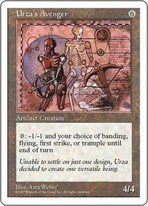Magic the Gathering Fifth Edition Single Card Rare Urza's Avenger
