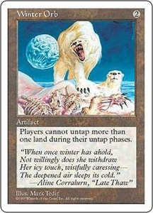 Magic the Gathering Fifth Edition Single Card Rare Winter Orb